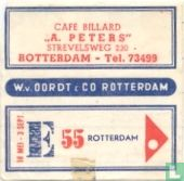 "Cafe Billard ""A. Peters"""