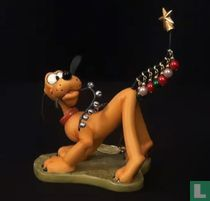 """WDCC Pluto Ornament """"Pluto Helps Decorate"""""""