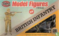 British infantry  Britse
