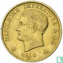 Koninkrijk Italië 20 lire 1810