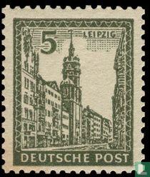Stadsbeelden Leipzig