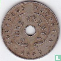 Zuid-Rhodesië 1 penny 1940