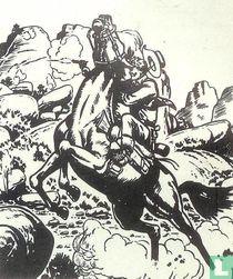 Kid Colt te paard