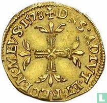 Dombes 1 gold ecu 1578