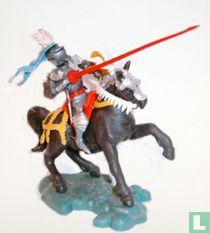 Mounted Knight with Lance and Shield