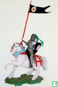 Mounted knight with standard