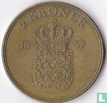 Denemarken 2 kroner 1957