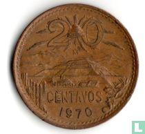 Mexico 20 centavos 1970