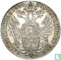 Oostenrijk 1 thaler 1824 C