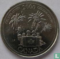 "Canada 25 cents 2000 ""Celebration"" kopen"