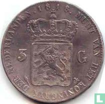 Netherlands 3 gulden 1818