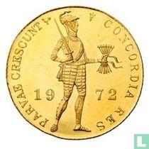 Nederland 1 dukaat 1972 (PROOFLIKE)