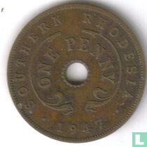 Zuid-Rhodesië 1 penny 1947