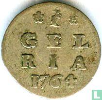 """Gelderland 1 stuiver 1764 """"bezemstuiver"""""""