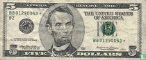 V. S. 5 Dollars B2