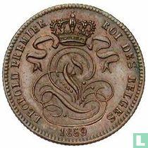 België 1 centime 1859