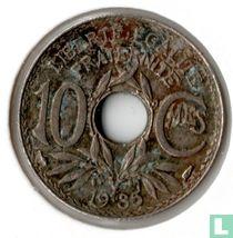 Frankrijk 10 centimes 1935