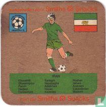 WK voetbal Argentina 78 - Iran