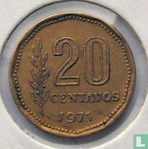 Argentina 20 centavos 1971