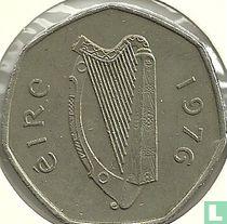 Ierland 50 pence 1976