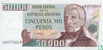 Argentinië 50.000 Pesos 1979