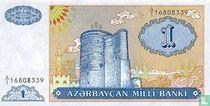 Azerbeidzjan 1 Manat 1993