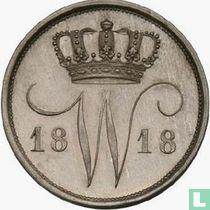 Netherlands 10 cents 1818