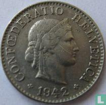 Zwitserland 5 rappen 1942 kopen