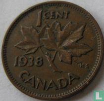 Canada 1 cent 1938