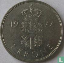 Denemarken 1 krone 1977