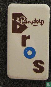 Bros Bensdorp (staand) [blauw]
