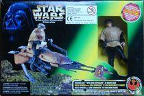 Speeder Bike with Luke Skywalker in Endor Gear
