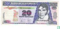 Guatemala 20 Quetzales