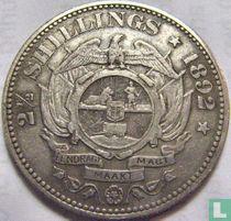 Afrique du Sud 2½ shillings 1892