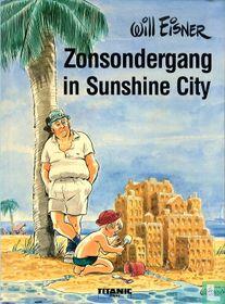 Zonsondergang in Sunshine City