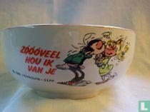"""Breakfast bowl """"Zoooveel hou ik van je"""""""