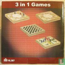 3 in 1 Games - Spellenset