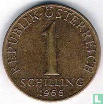 Austria 1 schilling 1966