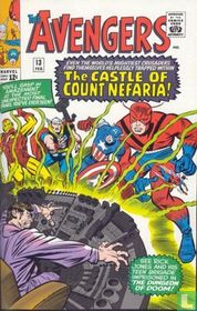 """Trapped in...""""The Castle of Count Nefaria!"""""""