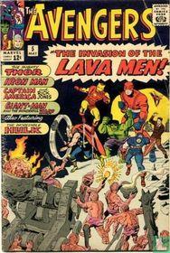 The Invasion of The Lava Men!
