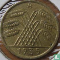 Duitse Rijk 10 reichspfennig 1935 (A)