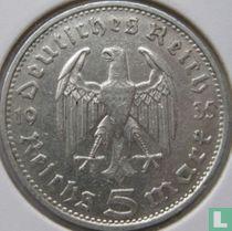 Duitse Rijk 5 reichsmark 1935 (D)