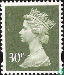 Koningin Elizabeth II - Machin Decimaal