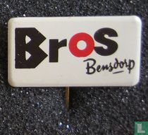 Bros Bensdorp (liggend) [rood]