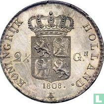 Netherlands 2½ gulden 1808