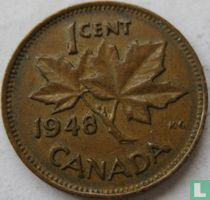 Canada 1 cent 1948