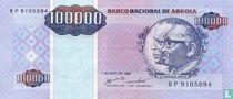 Angola 100.000 Kwanzas Reajustados 1995
