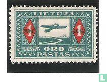 Flugzeug über Nemunas