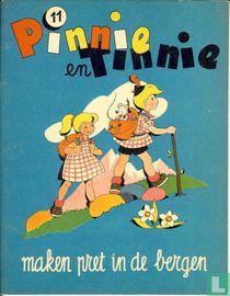 Pinnie en Tinnie maken pret in de bergen