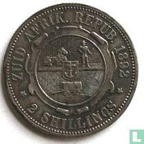 Afrique du Sud 2 shillings 1892